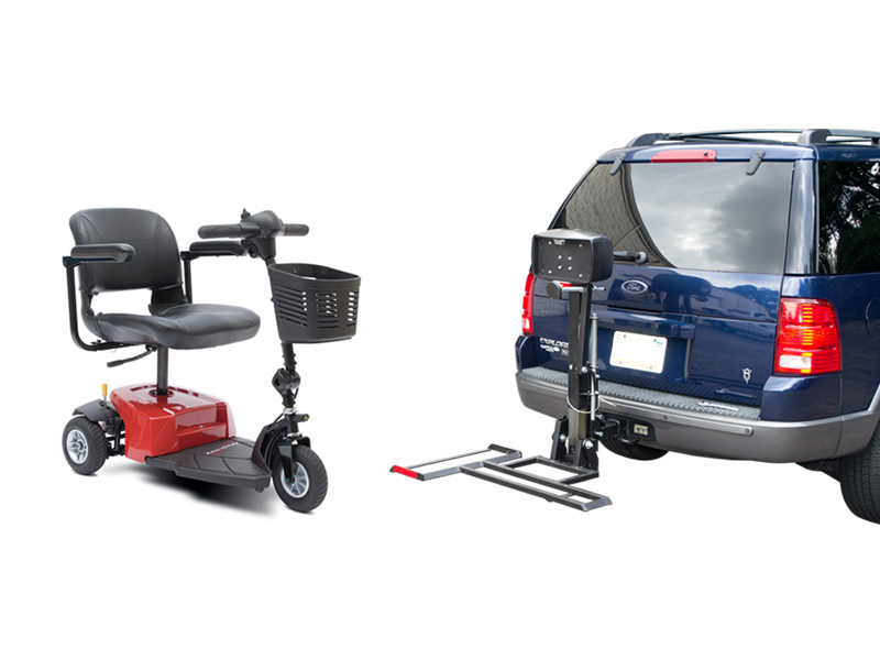 Traveler Companion Vehicle Lift / Scooter Package